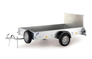 p range trailer with ramp tailgate