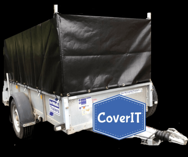 Ifor Williams GD84 cover-front view
