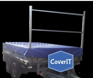 Ifor Williams Lm85 standard cover with ladder rack