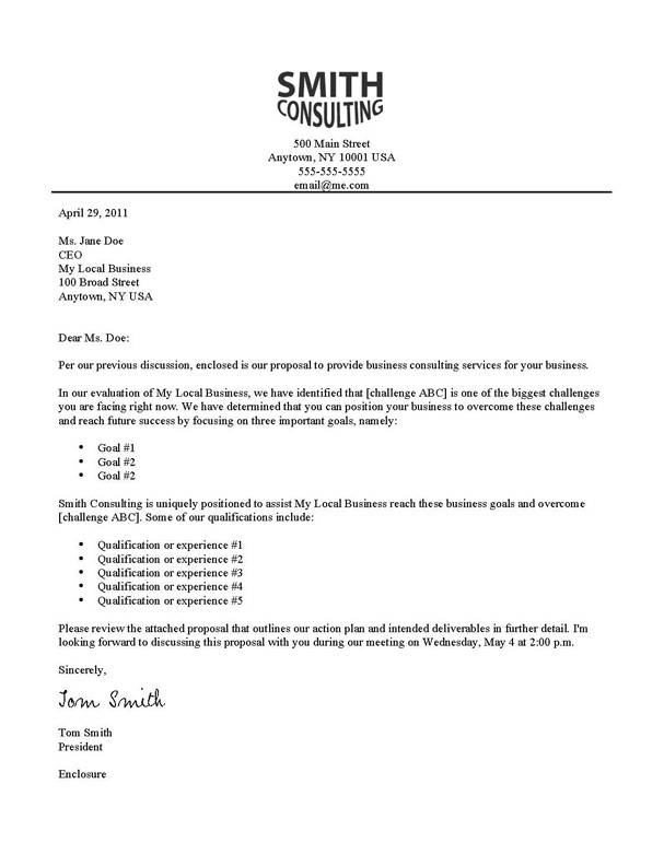 Writing A Business Letter To The Bank - Cover Letter Sample