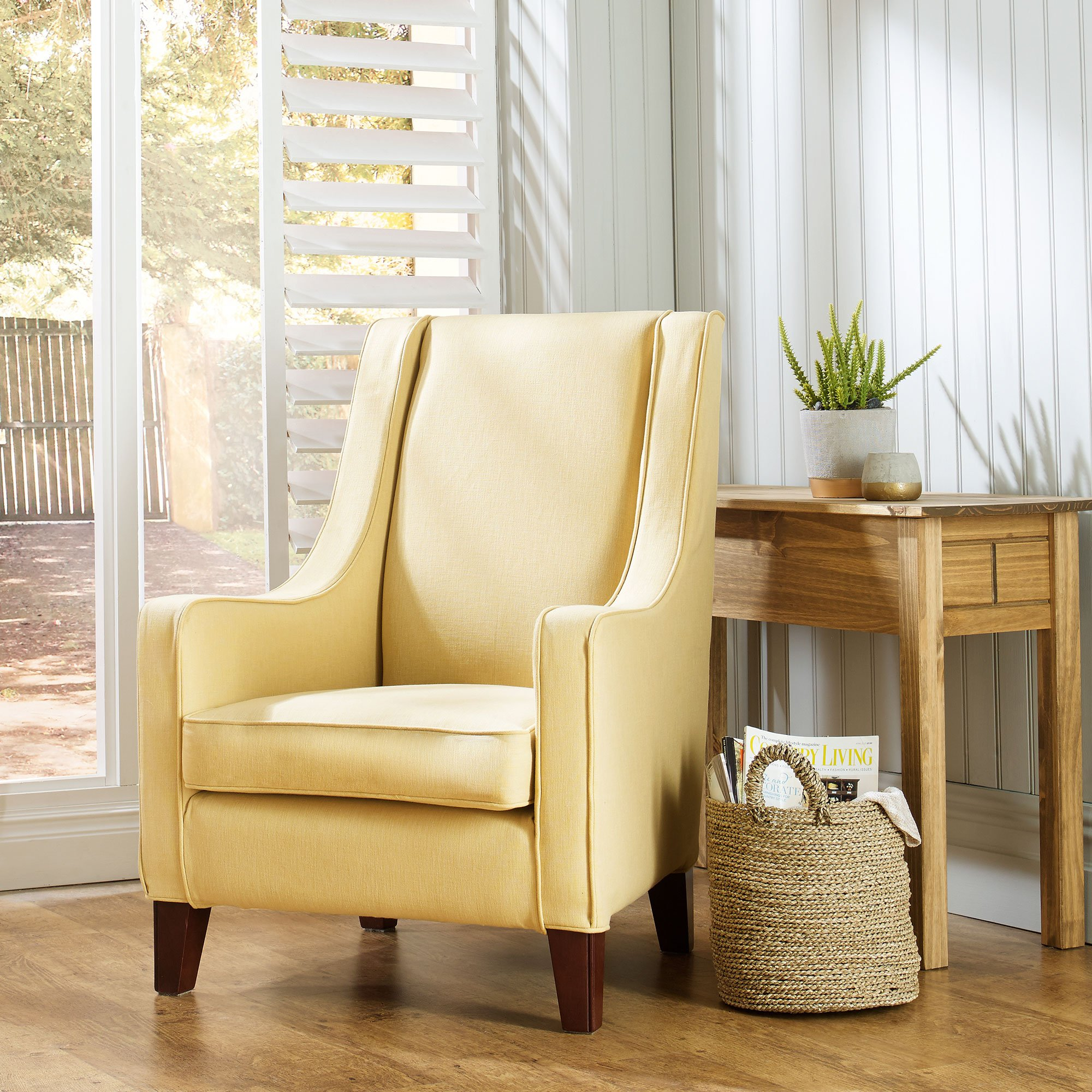 Luxury-Cotton-Weave---Ochre-Image1