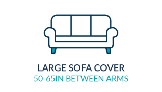 large sofa cover icon