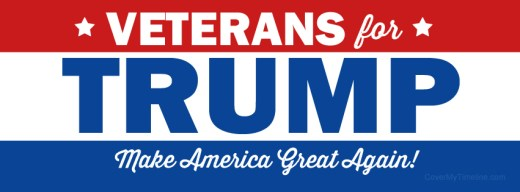 Image result for trump for veterans