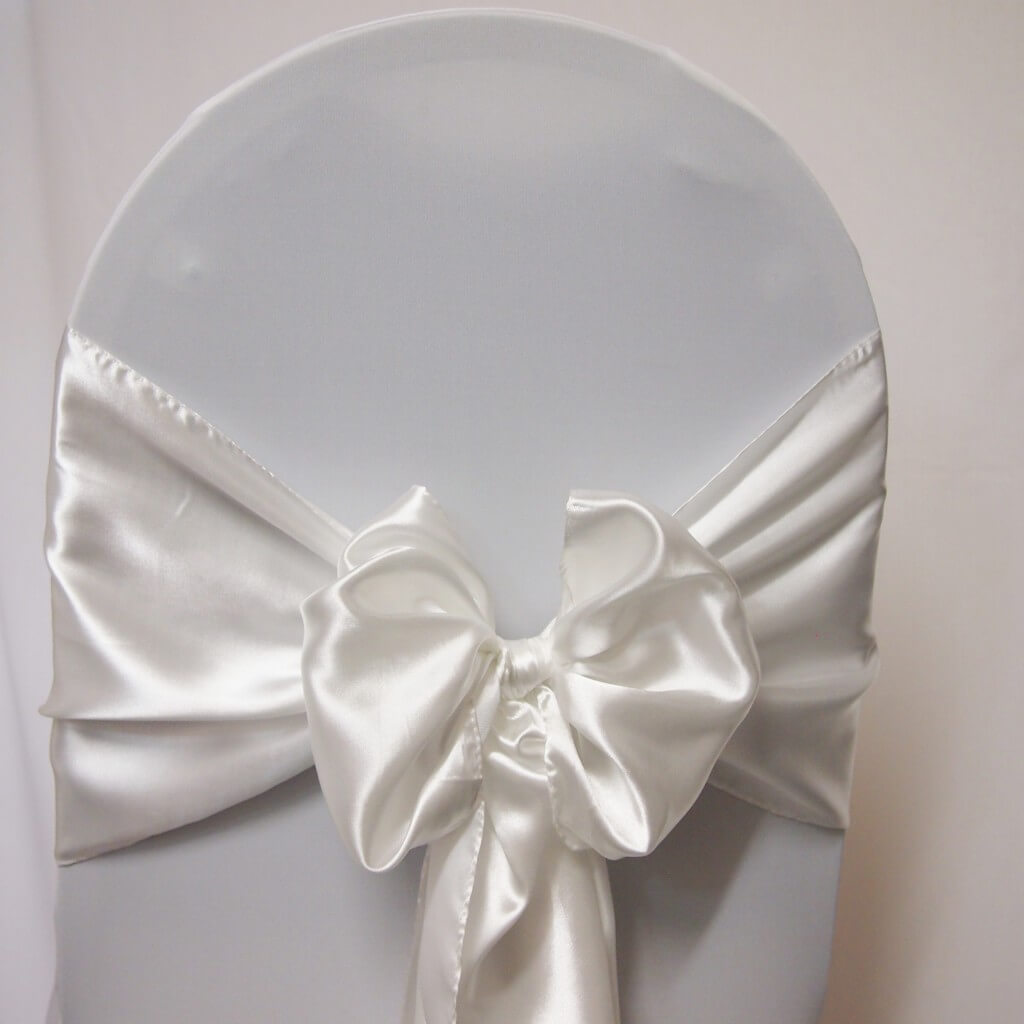 white chair sashes card table and chairs big lots covers decoration hire sash satin