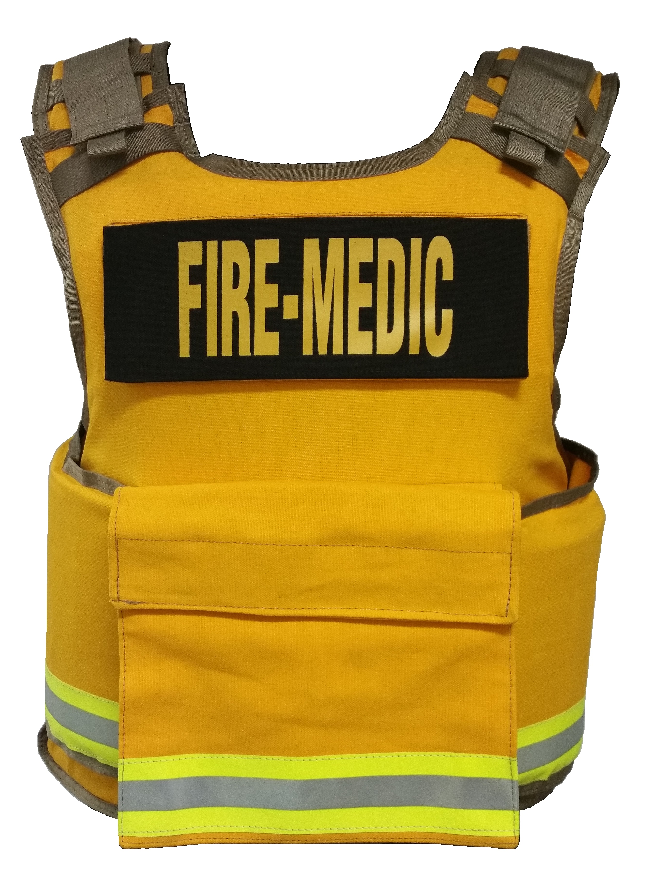 One Size Body Armor Ballistic Vest for Fire Department and EMS