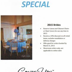 Chair Cover Rentals Birmingham Al Bungee Sports Authority Atlanta Area 2015 Showroom Special Ups Linens