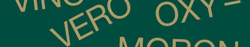 Vino Vero Oxymoron – 30/5 Venezia
