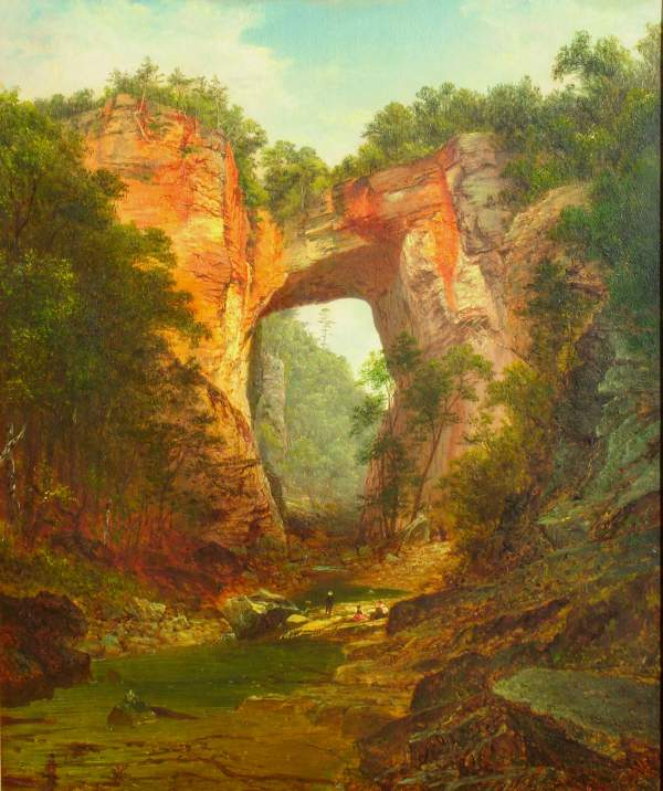 Natural Bridge Virginia Painting