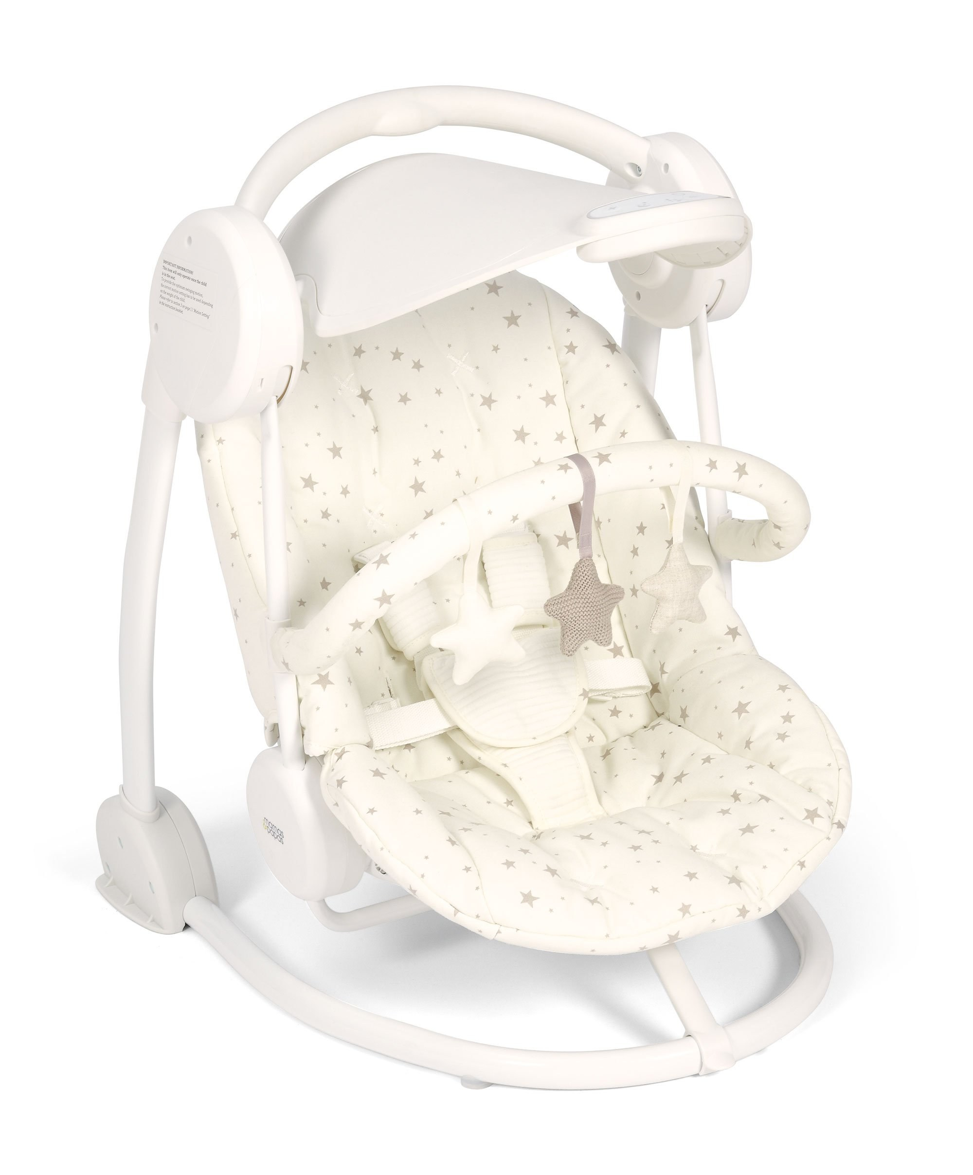 swing chair mamas and papas bright starts high cover bouncers swings  cowans of troon baby center