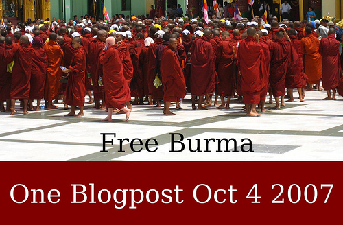 One blogpost for Burma