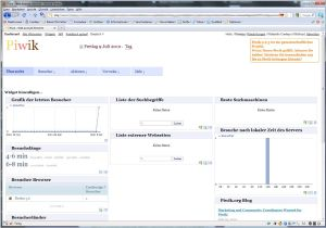 Piwik Screenshot