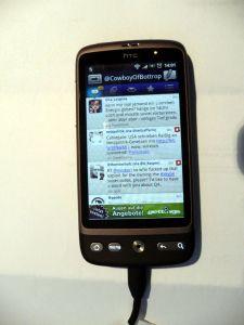 Mein HTC Desire