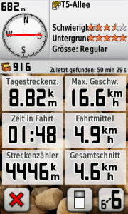 Garmin Screenshot 03.03.2012