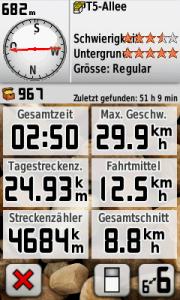 Garmin Screenshot 12.08.2012