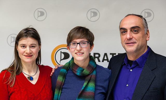 Spitzenkandidaten Europawahl 2014, Foto: Piratenpartei Deutschland (CC-BY)