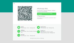 WhatsApp Web-Client QR-Code