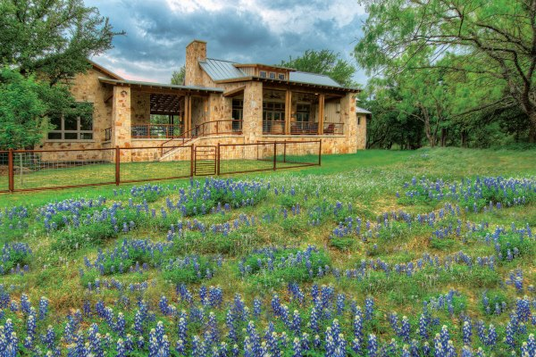 Texas Hill Country Style Homes