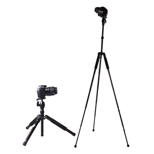 Beike BK-555 Aluminium Alloy Folded Tripod for SLR Camera
