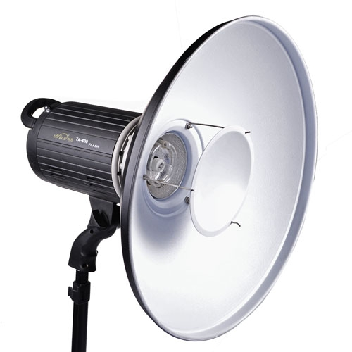 Aluminum Standard Reflector Beauty Dish with White