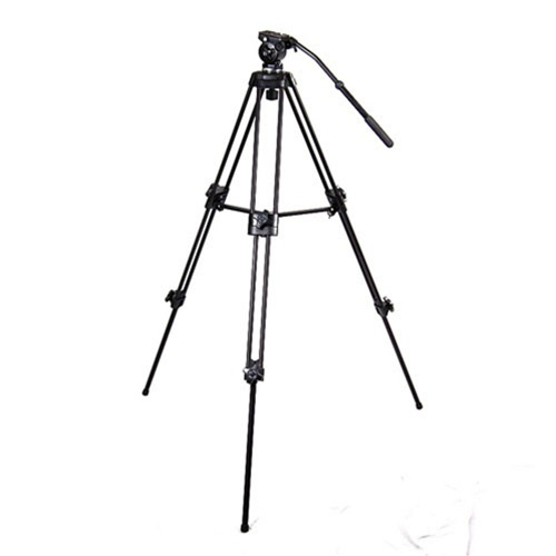 EI-717 TRIPOD, Tripod and Fluid Pan Head Video Camcorder