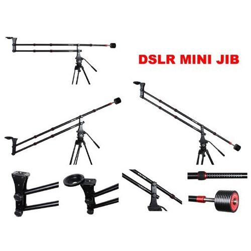 Aluminum Alloy Jib Arm Camera Crane with 360 Degree Pan
