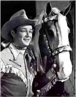 Picture of Roy Rogers and Trigger