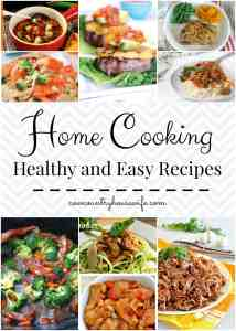 Home Cookin': Healthy and Easy Recipes