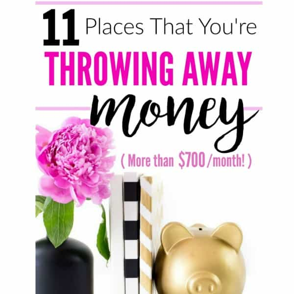 11 Expenses to Stop Spending Money On