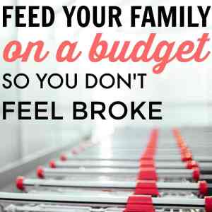 How to Feed Your Family on a Budget (so You Don't Feel Poor)