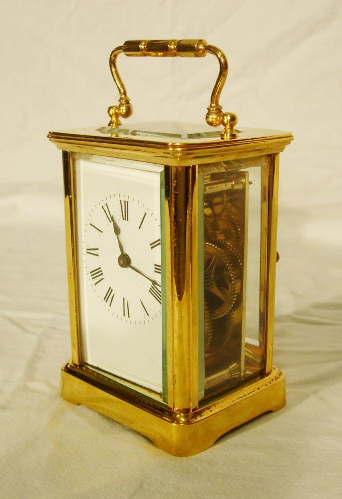 cow print chairs rattan indoor nz carriage clock - antique clocks