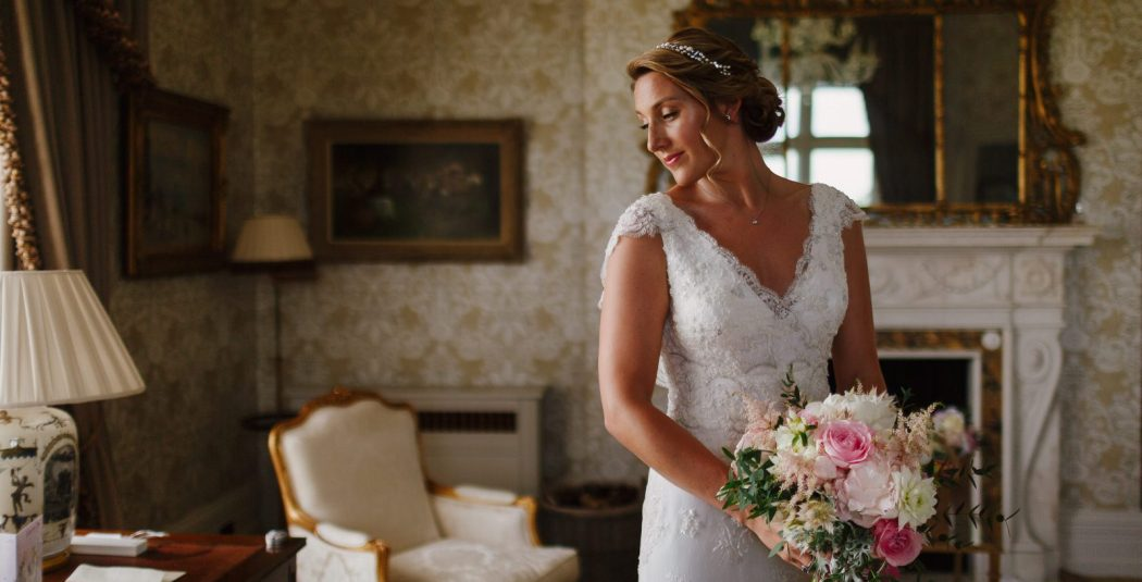 Bride Cowdray House