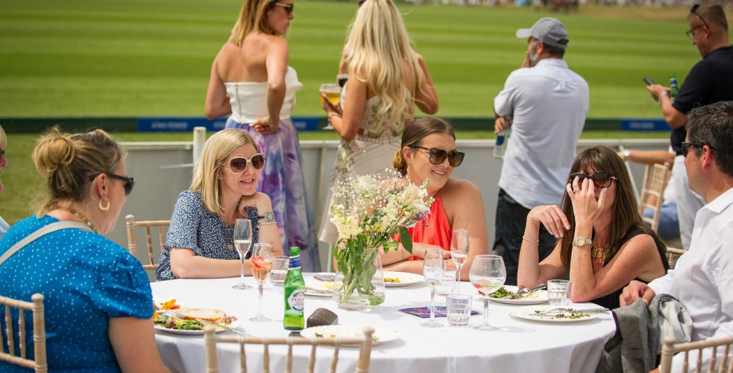 Members Enclosure Lunch polo gold cup final 19