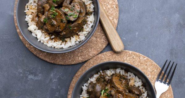 Mushroom Stroganoff Cowdray Kitchen Ready Meals