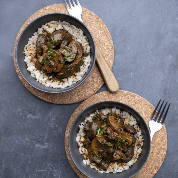 Mushroom Stroganoff Cowdray Kitchen Ready Meals