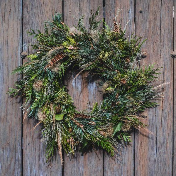 The Verdley - Christmas Wreath - Farm Shop - Cowdray Estate