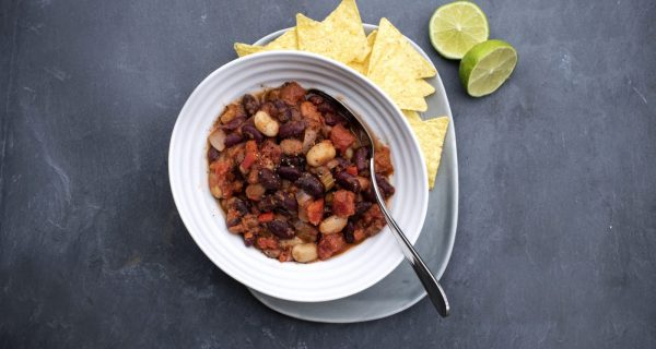 Three Bean Chilli Cowdray Kitchen Ready Meals