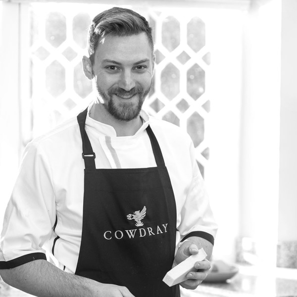 Ben Jupp, Head Chef at Cowdray Farm Shop Café