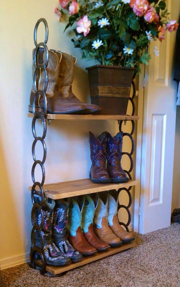 Cowgirl Organization Horseshoe Shelves Page 3 Of 5