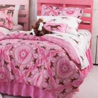 Pink Pony Bedding for the Little Cowgirl - Cowgirl Magazine