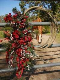 Western Christmas Wreaths - Cowgirl Magazine