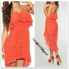 Lace Off Shoulder Western Dress