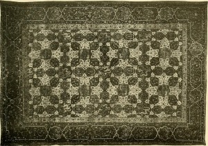 Example of a 16th century persian rug.