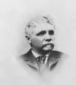 Photograph used by the International Watch Company as a likeness of F.A. Jones, IWC founder.