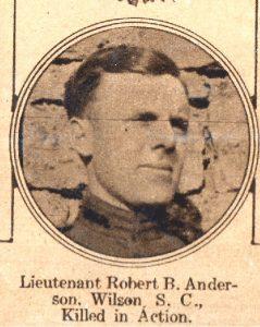 ANDERSON Robert Wilson SC