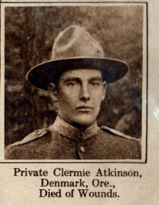ATKINSON Clermie Denmark OR
