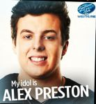 Photograph of Alex Philbrick aka Preston from American Idol web site