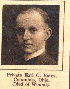 BATES Earl Columbus OH
