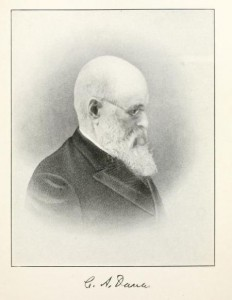 C.A. Dana, from History of New Hampshire by Everett S. Stackpole, p200