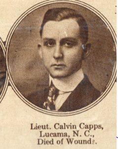 CAPPS Calvin Lucama NC
