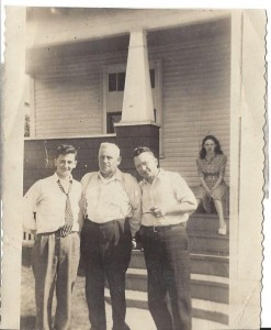 Charles W.  -- and family.  Photograph property of great-niece Judith Hardy, and used here with her permission.